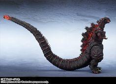 TAG Hobby » BANDAI 2016年11月發售: S.H. MonsterArts Godzilla(2016) 12,000Yen