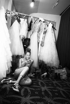 Hillenius Couture - behind the scenes - Fashion Show sept'14