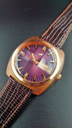 Enicar - Automatic Day Date. Gold Watch, Mario, Watches, Accessories, Wristwatches, Tag Watches, Wrist Watches, Watch