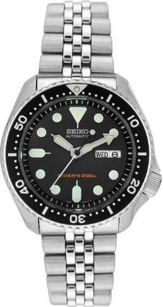 Seiko Mens SKX007K2 Divers Automatic Watch