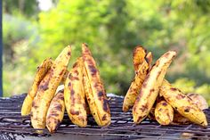 Roasted Plantain #Ghana