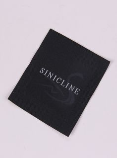 Custom woven label designed by Sincline #wovenlabel #labeling   Follow @sinicline for more