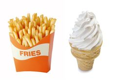 French Fries & Soft Serve