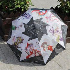 Japanese Touhou Project Youmu Konpaku&Izayoi Sakuya Anime Cosplay Umbrella