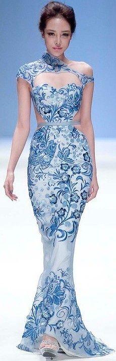 Zhang jingjing | Spring - Summer 2013 | Haute Couture