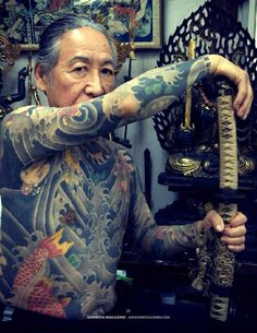 Tattoos are an integral part of society, with many people sporting one or more tattoos on their body, it is certain that these tattoos can be significant for many people and cultures from around th… Yakuza Style Tattoo, Irezumi Tattoos, Japanese Tattoo Artist, Japanese Tattoo Designs, Body Art Tattoos, Sleeve Tattoos, Hand Tattoos, Tatoos, Historical Tattoos