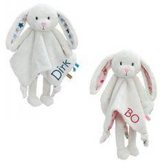 NIEUW little dutch knuffel konijn met naam