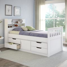 CorLiving Madison Twin/ Single Captain's Bed - Overstock™ Shopping - Great Deals on CorLiving Kids' Beds