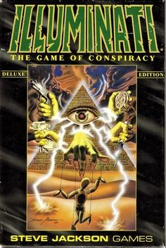 ❥ Illuminati game~ all cards have 'prophetic' images of things they planned, even 9/11 Twin Towers and Pentagon smoking. Game was released in 1995, 6 years before 9/11/01.
