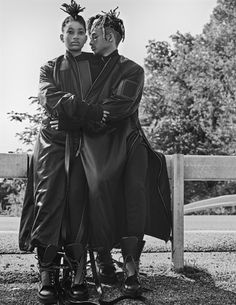 Jaden & Willow Smith for Interview Magazine, September 2016