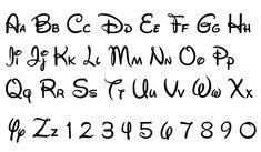 Images : Disney Alphabet