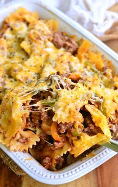 Stuffed Peppers Pasta Casserole. Inspired by the classic stuffed bell peppers dish, this comforting pasta casserole holds all those flavors inside.