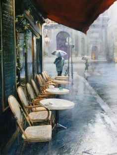 Don't know where this is but I love the rain