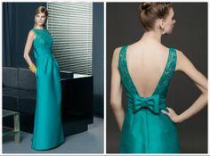 Vestidos verdes para Mães e Madrinhas - Coleção 2014 de Rosa Clará - Blog Dani Vargas   Realize-se - O site do seu casamento