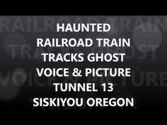 GHOST TUNNEL 13 SISKIYOU OREGON LAST TRAIN ROBBERY 4 KILLED VOICE+ PICTU...