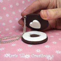 Collares de corazón de galleta   38 piezas de joyería perfectas para compartir con tu mejor amiga