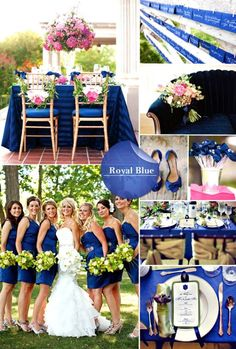 Wedding Color Themes For Late Summer
