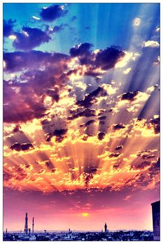 Going to the world of my dreams on We Heart It is part of Clouds - Image discovered by Sol Find images and videos about photography, sky and sun on We Heart It the app to get lost in what you love Beautiful Sunset, Beautiful World, Beautiful Places, Wallpapers Whatsapp, Pretty Pictures, Cool Photos, Fotografia Macro, Amazing Pics, Awesome