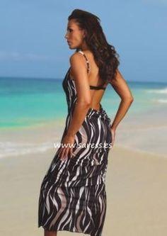 ae12f55d30 Malibu Sundown Saress. Madam Ambassador ♛ Vanessa Ann · Pareo - Beach cover  ups
