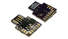 A micro-sized, affordable, Arduino enabled, USB development board! The Digispark is an based microcontroller development board simi. Hobby Electronics, Electronics Basics, Electronics Gadgets, Electronics Projects, Technology Gadgets, Pi Projects, Arduino Projects, Esp8266 Wifi, Arduino Board