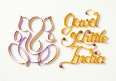 Jewel of Little India :: by Sabeena Karnik, via Behance