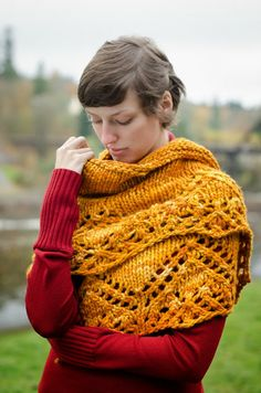AndreaKnits: Sentiment Shawl