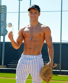 ... Ok I'll watch baseball. But only if we remove everyones shirts and leave on those pants... or take em off too.. mmmmmmhmmm. I feel like the old guy in family guy except im a girl... lol