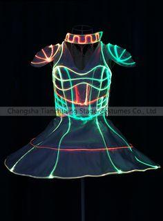 Amazing fiber optic led light up costume, Light Up Costumes, Led Costume, Laser Show, Stage Show, Fiber Optic, Costume Design, Dj, Dancer, Amazing