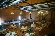 Ashley and Chad high end barn wedding reception decor