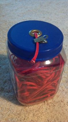 Oh, here's another great storage idea for all that paracord cluttering up the place, getting all tangled.