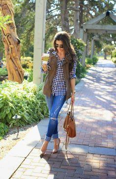 Women's Vests Street Style (7)