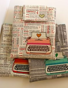 Don't have an ipad yet but going to get this when I get one...adorable!  Love the typewriter.