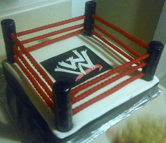 Cake was made for my cousins fiances' birthday. It was...