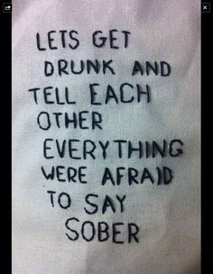 ...  and this is what makes being sober all the more fun!
