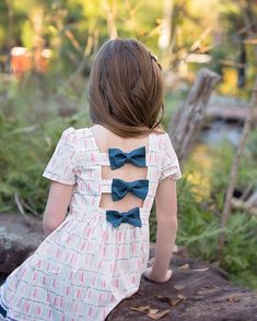 Brenda's Bow Back Top & Dress   Download the Pdf pattern to make unique, modern and beautiful clothes   The Simple Life Pattern Company