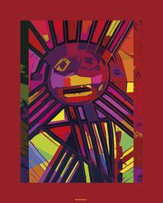 Raus Haus: RAUS Prints on canvas III