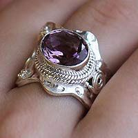 Her majesty ring, perfect statement, estate piece, as my brother would tease
