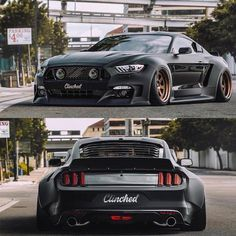 #ford#Mustang#SVT tag--> #American_muscle_mustangs / another view of @_clinched_ widebody