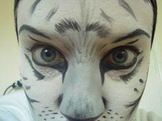 White Tiger Makeup 3