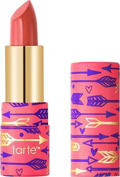 Tarte Glide & Go Buttery #Lipstick - Tangerine Target! Glide & Go Buttery Lipstick by Tarte is an ultra-creamy, hydrating lipstick that feels like a balm & delivers longwearing, vibrant color to get you through your busy day. Smoothly glides on lips with a buttery, creamy texture to deliver a punchy pop of longwearing color that flatters all skin tones. Buttery, balm-like formula moisturizes lips with a cocktail of shea butter, murumuru butter & jojoba seed oil for a smooth & plush pout.
