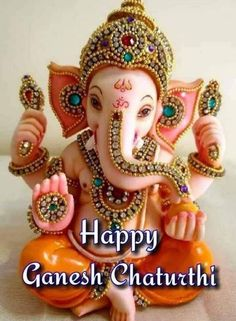Happy Ganesh Chaturthi, Collection, Jewelry, God, Ocean Quotes, Ganesha, Blessings, Festivals, Lifestyle
