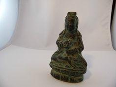Buddha Bronze Indisch asiatisch antique um 1700 Museal