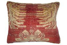 Red Sivas Rug   Pillow on OneKingsLane.com