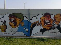 Un po' di street art in zona San Siro #milanodavedere Milano da Vedere