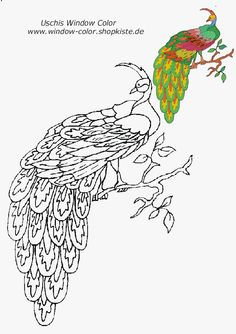 Tiere-Vorlagen 1 Colorful Flowers, Coloring Pages, Diy And Crafts, Birds, Windows, 3d, Embroidery, Canvas, Animals