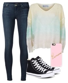 """""""Princess"""" by emmafetzer on Polyvore featuring J Brand, Converse, Wildfox and Casetify"""