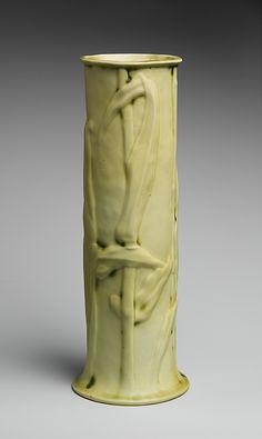 Vase, Tiffany Studios  Date: 1904–05 Culture: American Medium: Porcelaneous earthenware