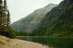 Morning at Avalanche Lake