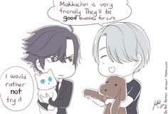 anime, viktor, and yuri image