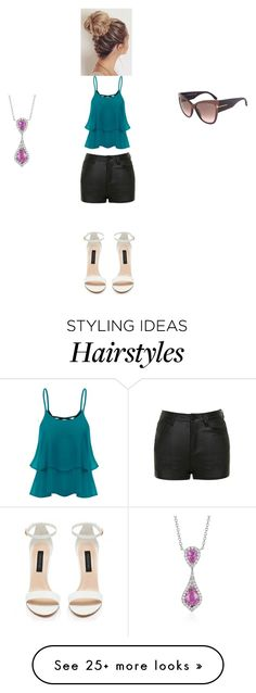 """""""summer"""" by gwentommo on Polyvore featuring Ally Fashion and Blue Nile"""